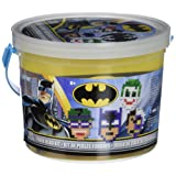 Perler Beads Batman Fuse Bead Bucket Craft Activity Kit, 6005 pcs (Color: Multicolor)