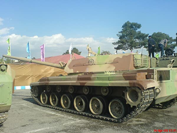 Zulfiqar tank of the Iranian Army
