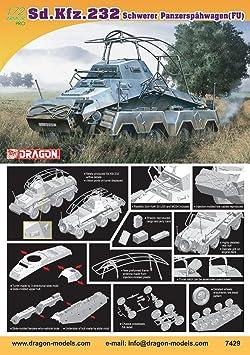 Dragon - D7429 - Maquette - SDKFZ232 - FU - Echelle 1:72