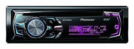 Pioneer DEH-X8500DAB Autoradio CD/DVD Noir