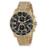 Reloj Invicta 16932 Specialty para hombre, robusto, con cronógrafo, de acero inoxidable chapado en iones de oro de 18k.