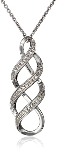Sterling-Silver-Diamond-Infinity-Pendant-Necklace-1-10-cttw-18-