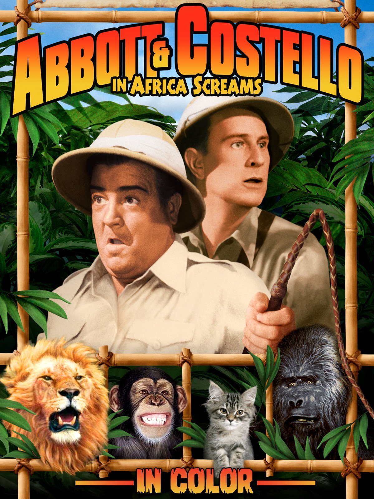 Africa Screams (in Color) on Amazon Prime Instant Video UK