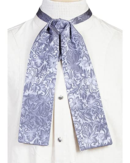 Victorian Mens Ties  Mens Old West Silk Puff Tie $32.50 AT vintagedancer.com
