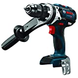 Bosch HDH183B 18V EC Brushless 1/2 In. Hammer Drill/Driver (Bare Tool), Blue (Renewed) (Color: Blue)
