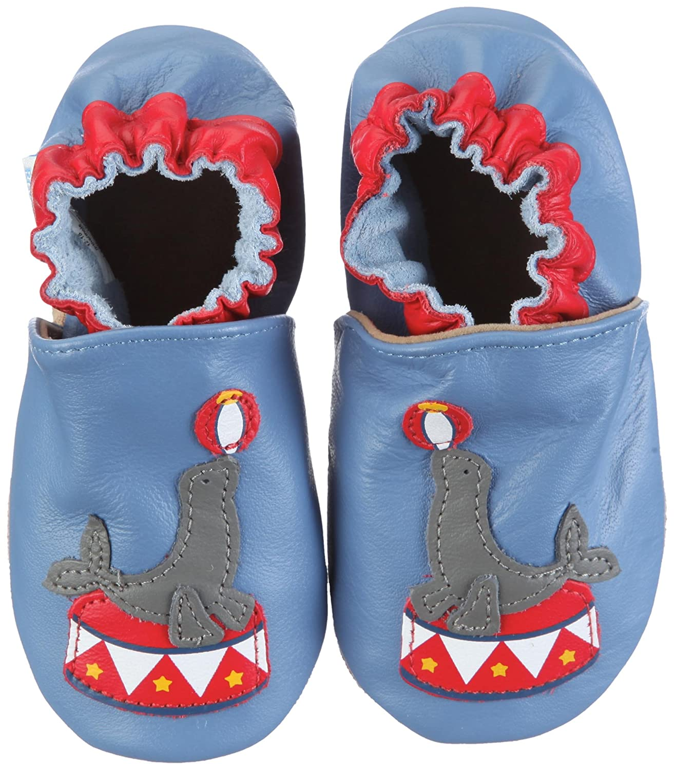 ROBEEZ Infant Toddler Boys Slip on Shoes Seal The Show