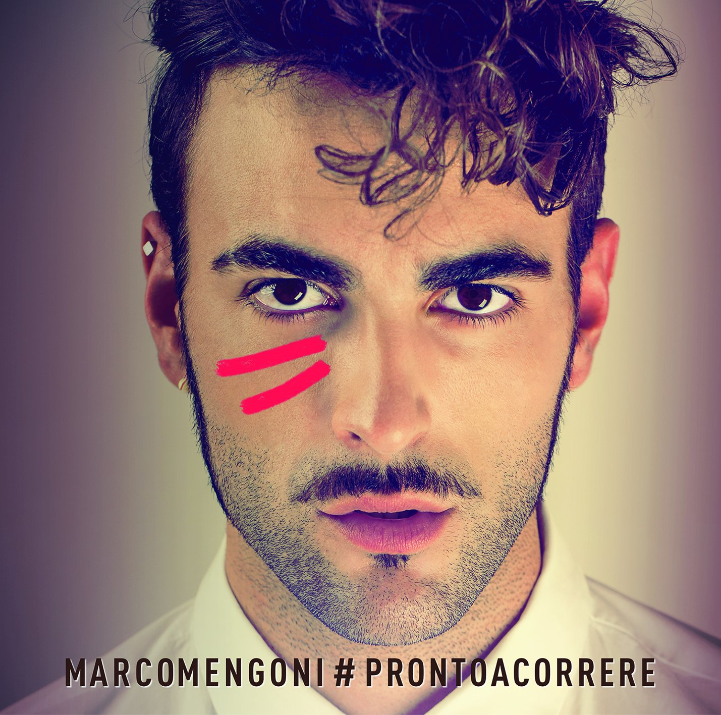 Cover of #prontoacorrere Marco Mengoni as seen on viaoptimae.com