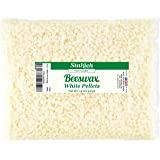 Stakich White Beeswax Pellets - Natural, Cosmetic Grade, Premium Quality - (14 oz) (Tamaño: 14 oz)