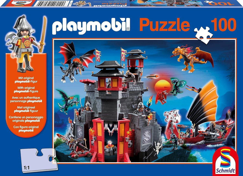 Schmidt Spiele 56074 – Playmobil, Asia-Drachenland, 100 Teile Puzzle günstig kaufen