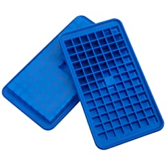 Casabella Silicone Mini Ice Cube Tray, Set of 2