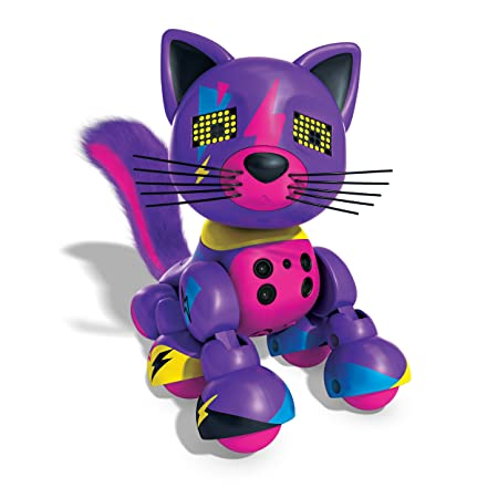 Zoomer – Meowzies – Lucky – Robot Chat Interactif