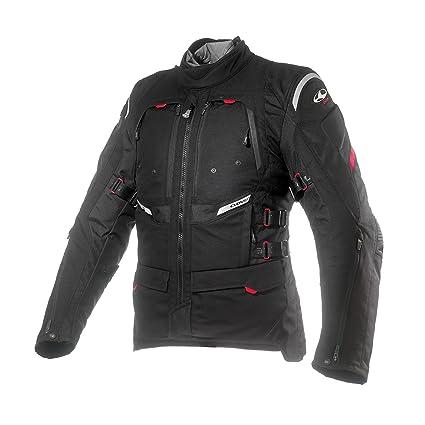 Clover 99170704_ 03GTS de 3Femme Veste de moto airbag compatible, noir, Taille M