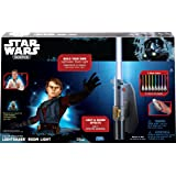 Star Wars Science Multicolor Lightsaber Room Light - Uncle Milton (Color: Silver, Tamaño: Large)