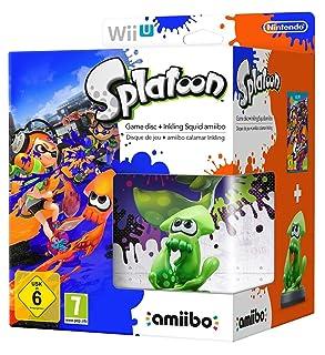 Splatoon Amiibo Games