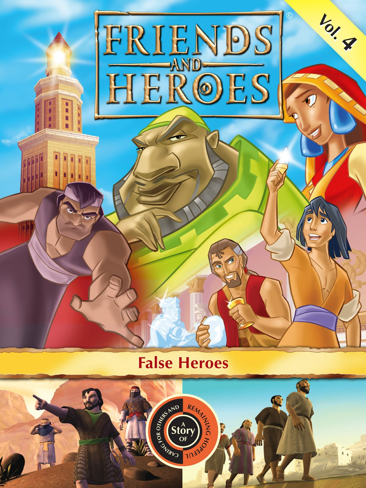 Friends and Heroes, Volume 4 - False Heroes on Amazon Prime Instant Video UK