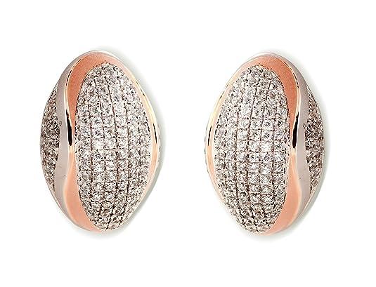 Orphelia High-End Micro Pavé ZO - 5835 Women's Stud Earrings Silver