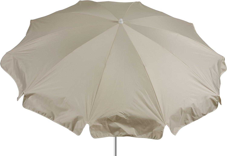 beo Sonnenschirme wasserabweisender, rund, Durchmesser 200 cm, beige günstig online kaufen