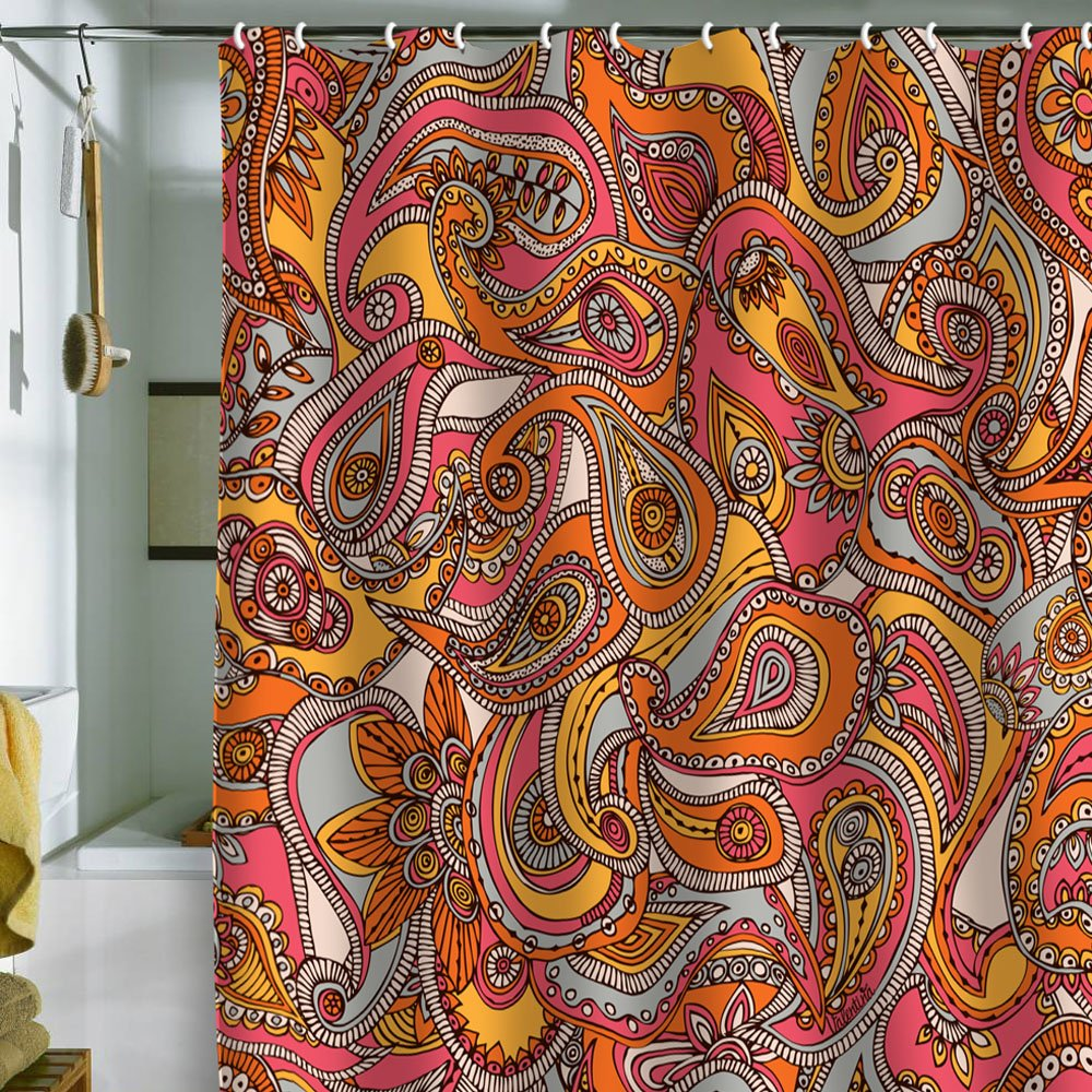 Deny designs valentina ramos spring paisley shower curtain