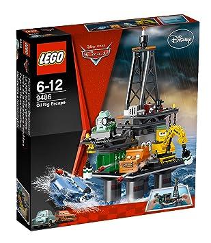 LEGO Cars - 9486 - Jeu de Construction - La Plate Forme Pétrolière