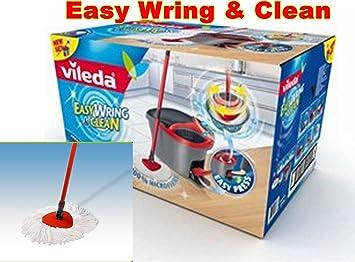 Vileda Balai Seau Easy Wring And Clean Set Complet