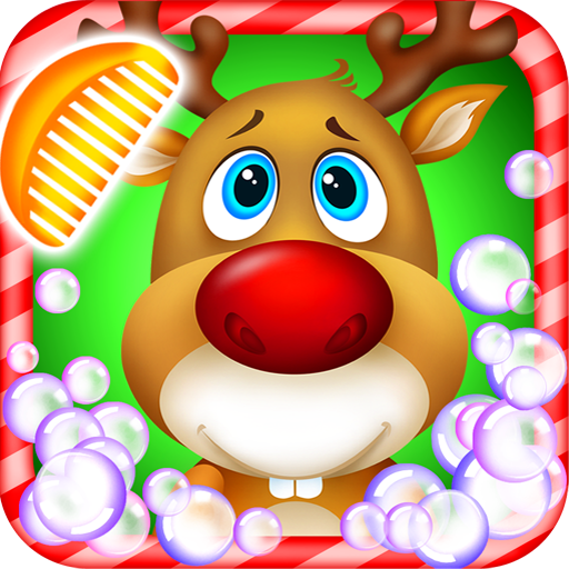 Pet Spa Salon: North Pole - Christmas Time Game For Kids