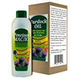 Burdock Oil with Castor Oil and Vitamins 5.1 fl oz/150ml