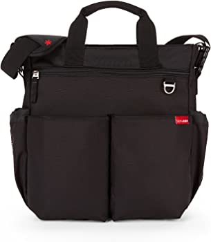 Skip Hop Duo Signature Diaper Bag w/Portable Changing Mat