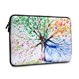 iCasso 13-Inch Stylish Soft Neoprene Sleeve Case Cover Bag For Macbook Air / Pro / Retina 13 Inch/2016 New Retina 13 Inch(Four Seasons Tree) (Color: Four Seasons Tree, Tamaño: 13 inch)