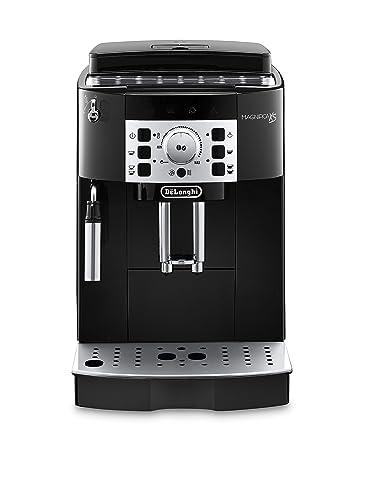 The Delonghi ECAM22110B Magnifica XS Automatic Espresso Machine in Black