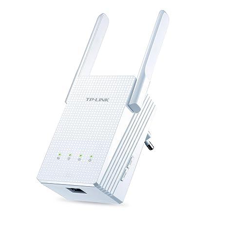 TP-LINK RE210 Répéteur Wi-Fi AC 750Mbps Double Bande (1 port Gigabit, compatibilité Universelle, Installation Facile)