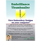 Embrilliance Thumbnailer, Embroidery Software for Mac & PC (Color: varies)