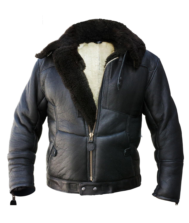 Kanaljacke Winterversion Schaffell online kaufen