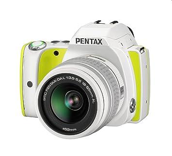 Pentax K-S1 Appareil photo reflex numérique 20 Mpix Citron + Objectif DAL 18-55 mm + Fourre-tout blanc