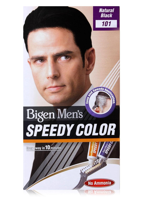 Buy Bigen Men\'s Speedy Color, Natural Black 101 (40g + 40g ...