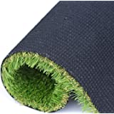 RoundLove Artificial Grass for Dogs Pee Pads, w/Drainage Holes 4 Tone Synthetic Grass Mat Fake Turf Patch Pet Astroturf (Color: General, Tamaño: General 20 in x 24 in)