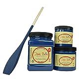 Dixie Belle Paint Company Chalk Finish Furniture Paint (Bunker Hill Blue) (32oz) (Color: Bunker Hill Blue, Tamaño: 32oz)