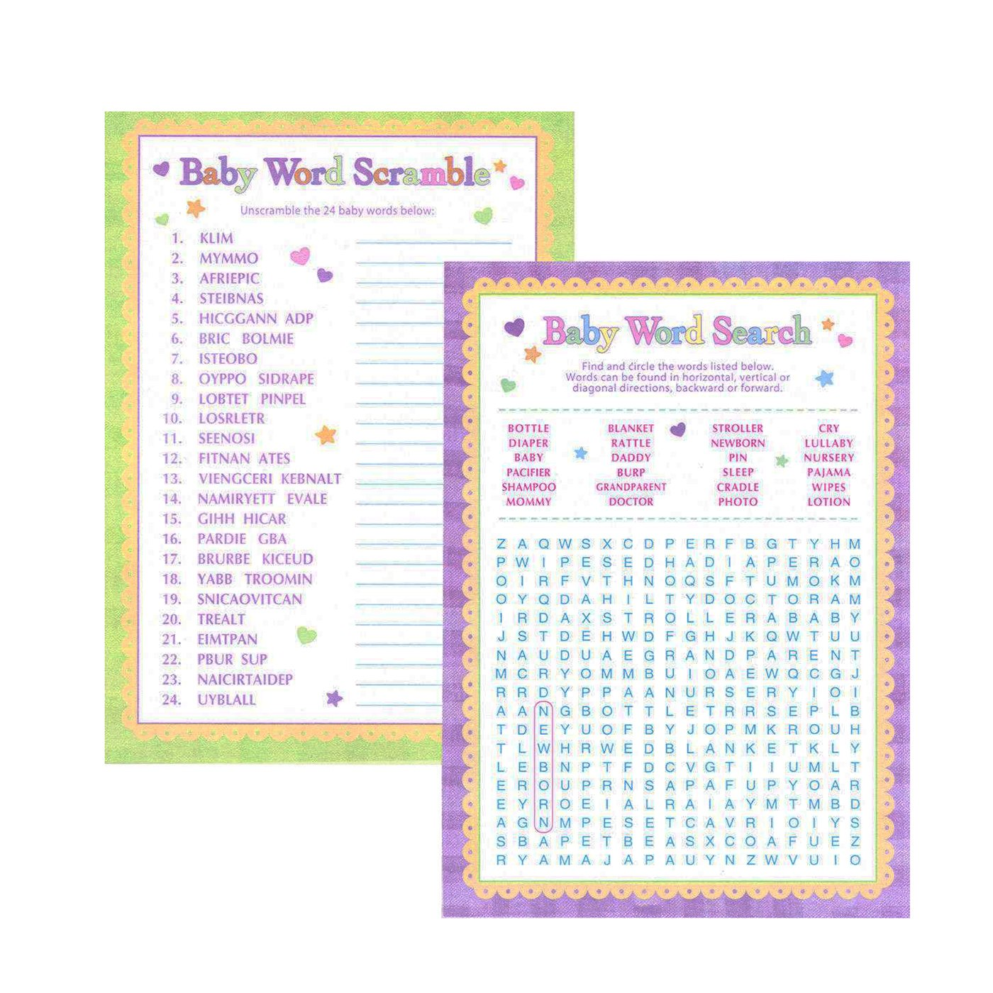 girl baby shower games baby shower mania