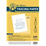 Aunt Martha's 8.5-Inch by 12-Inch Tracing Paper, 50-Sheet (Color: Standart, Tamaño: 9-x-12-Inch)