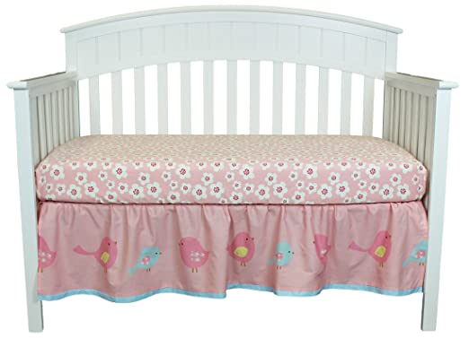 Belle True Baby Sweet Tweet Crib Bedding