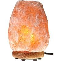 WBM Himalayan Glow 1002 Hand Carved Natural Salt Lamp (Orange)