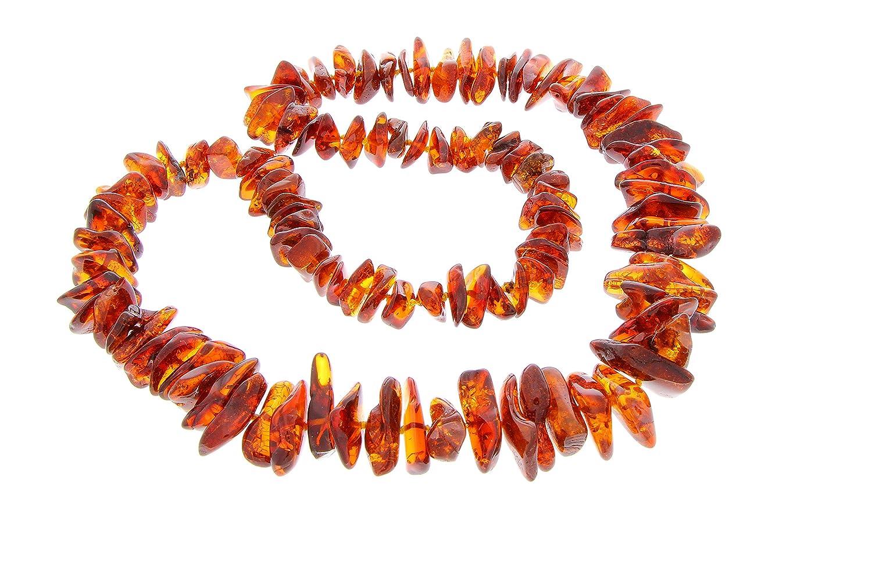 SilverAmber – Damen – Echte Baltischen Bernstein Halskette -NE0126 schenken