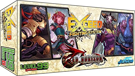 Exceed Fighting System Red Horizon Satoshi & Mei-Lien Vs. Baelkhor & Morathi Board Game