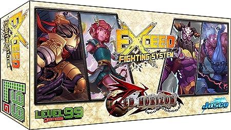 Exceed Fighting System Red Horizon Satoshi & Mei-Lien Vs. Baelkhor & Morathi Board Game