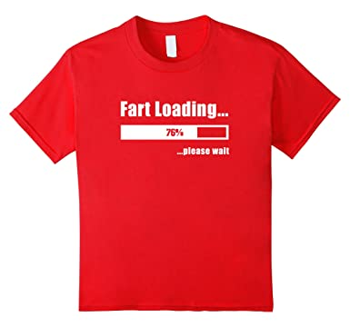 Fart Loading Funny T-Shirt joke Tee