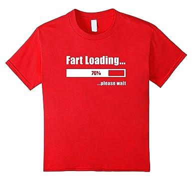 Fart Loading Funny T-Shirt joke Tee