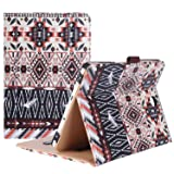 ProCase Samsung Galaxy Tab S2 8.0 Case - Leather Stand Folio Case Cover for 2015 Galaxy Tab S2 Tablet (8.0 inch, SM-T710 T715 T713) - Aztec2 (Color: z- Aztec2, Tamaño: Galaxy Tab S2 8.0 (SM-T710))