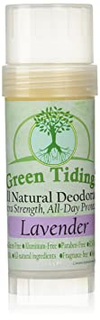 Green tiding all natural deodorant