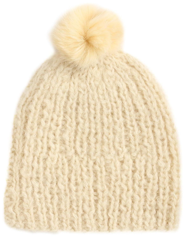 Amazon.co.jp: (スナイデル)snidel モヘアニット帽 SWGH144659 32 YEL F: 服&ファッション小物通販