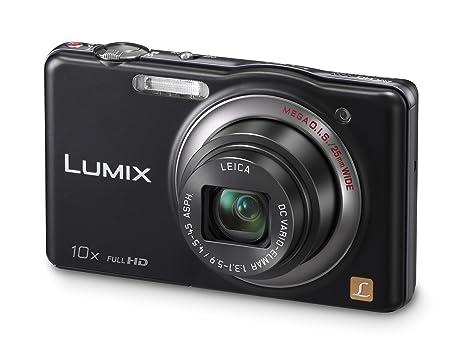 """Panasonic Lumix DMC-SZ7EG-K Appareil photo numérique 14 mégapixels, zoom optique 10 x, écran 7 cm (2,9""""), stabilisateur d'image (Noir)"""