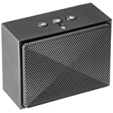 Altavoz portátil AmazonBasics ultra Mini Bluetooth, color gris